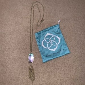 Pre-owned Kendra Scott Rayne Necklace/Lariat